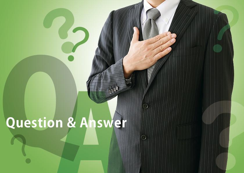 人材派遣について、質問と回答のサンプル